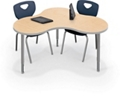 "Collaborative Cloud Shaped Table - 55.5""W, 16207"