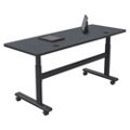 "Adjustable Height Mobile Flipper Table - 60""W, 41610"