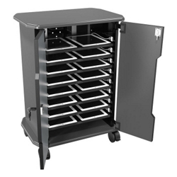"Mobile 16 Laptop Storage Cabinet - 30.75""H, 43391"