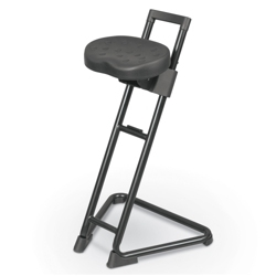 Height Adjustable Stool with Molded Polyurethane Seat, 51521