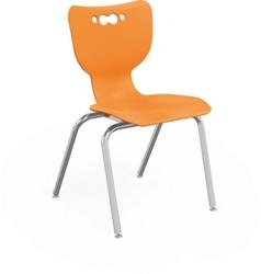 """Four Leg 18"""" School Chair, 51714"""