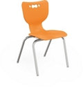 "Four Leg 18"" School Chair, 51714"