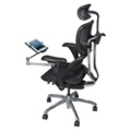 Mesh Ergonomic Computer Chair with Tablet Arm, 56989