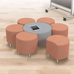 Configurable Soft Seating Group, 76672