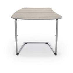 "Cantilever Curve Top Student Desk - 34""W, 16188"