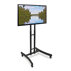 "Height Adjustable Mobile TV Stand - 29""W, 43455"