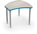 "Adjustable Height Desk with Colored Edge Banding - 30""W, 16210"