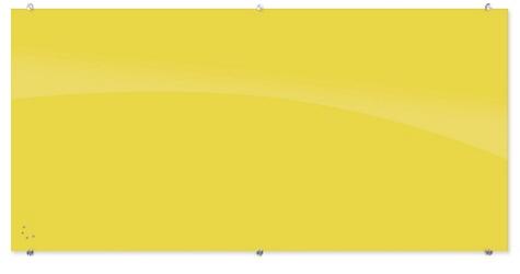 Magnetic Glass Board 4'H x 8'W, 83315