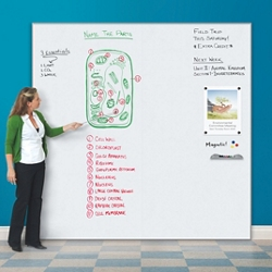 8'W x 8'H Whiteboard Panel System , 81036