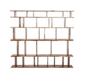 """Five Shelf Bookcase - 73""""H, 33054"""