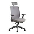 Sleek Chair with Headrest, 57325