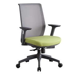 Sleek Mesh-Back Chair, 57506