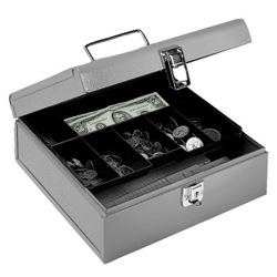 Seven Compartment Cash Box, 36027