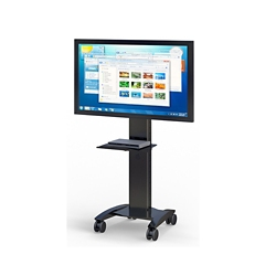 "Mobile Flat Screen Monitor Cart - 30""W x 29""D, 43431"