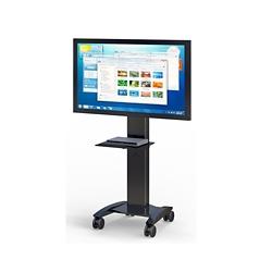 "Mobile Flat Screen Monitor Cart - 30""W x 29""D, 43431"