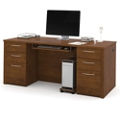 "Double Pedestal Executive Desk - 71""W, 10107"