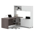 """L-Desk with Hutch - 71.1""""W, 14484"""