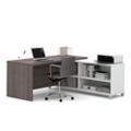 "Pro Linea Four Shelf L-Desk - 71""W, 14482"