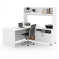 """L-Desk with Open Hutch - 71""""W, 14518"""