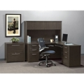 Reversible L-Desk, Hutch and File Set, 14970