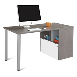 """Boardwalk Compact Desk with One File Drawer - 60""""W, 16000"""