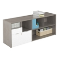 """Boardwalk Credenza with One File Drawer - 71.1""""W, 36937"""