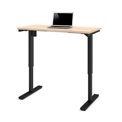 "Laminate Adjustable Height Table -  48""W x 24""D, 41884"