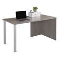 "Boardwalk Table Desk with Metal Legs - 60""W, 46831"
