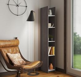 """10""""W 5 Shelf Bookcase , 37411"""