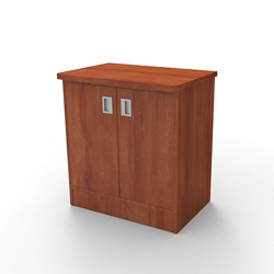 "Behavioral Health Bedside Cabinet with Doors - 29""H, 26306"
