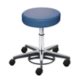 Vinyl Stool with Foot Height Adjustment, 26701