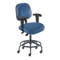 Vinyl Task Chair with Footring, 26684