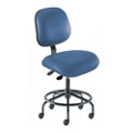 Armless Vinyl Task Chair with Footring, 26683