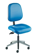 Armless Task Chair with Vacuum-Formed Seat and Back, 26688
