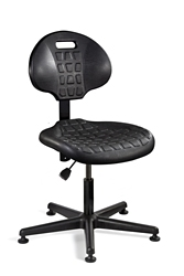 "Armless Polyurethane Chair -15""-20""H, 51777"