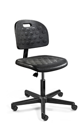 "Armless Polyurethane Chair - 16""-21""H, 51786"