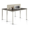 "Element Two Person Workstation with Desktop Divider - 59""W, 14855"