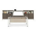 Element Executive Desk Set with Two Storage Cabinets, 14858