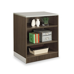 "Esquire 39""H Three Shelf Bookcase, 32178"