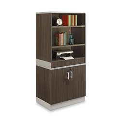"Esquire 68.5""H Bookcase and Storage Cabinet Set, 32185"