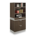 "Esquire 68.5""H Bookcase and Lateral File Set, 32186"