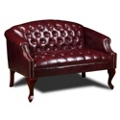 Compact Loveseat in Vinyl, 75577
