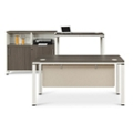 Element Executive Desk Set with Storage Cabinet, 86127