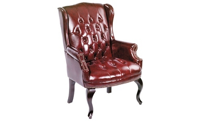 Traditional Wing-Back Guest Chair, 50758