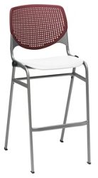 Perforated Back Polypropylene Stool , 51024