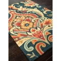 Large Scale Brocade Design Rug - 7.5'W x 9.5'D, 82534