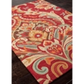 Large Scale Brocade Design Rug - 5.5'W x 7.5'D, 82533
