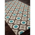 Geometric Pattern Area Rug - 3.5'W x 5.5'D, 82535