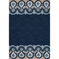 Greek Motif Area Rug - 7.5'W x 9.5'D, 82554