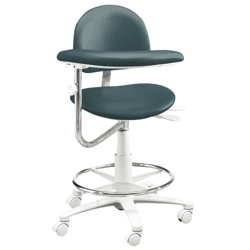 Dental Operator Stool with Right Armed Support, 57081